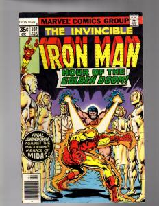 IRON MAN 107 VERY FINE  MINUS   February 1978