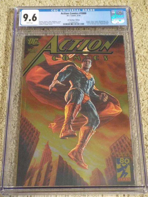 Action Comics #1000 - DC Boutique Edition - CGC 9.6