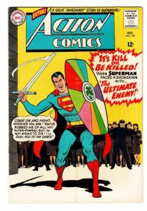 Action Comics #329 1965- Superman- DC Silver Age FN+