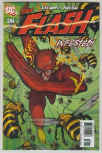 THE FLASH #244 - INFESTED - DC UNIVERSE