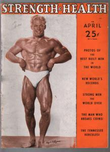 Strength and Health 9/1948--male & female body builders photos-FN