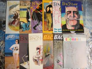 Eddie Campbell's Bacchus Mini-Library Lot of 22 Comics Joe Theseus Dionysus ++