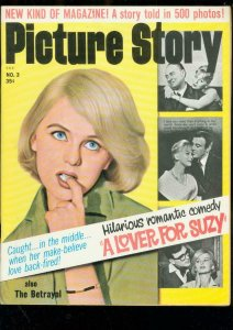 PICTURE STORY #3-1963-LOVER FOR SUZY-COMIC USING PHOTOS FN/VF