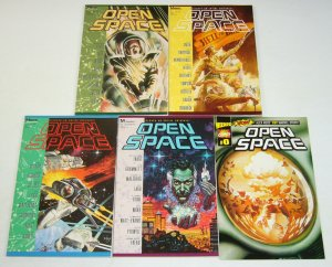 Open Space #0 & 1-4 VF/NM complete series ALEX ROSS ray lago KURT BUSIEK marvel