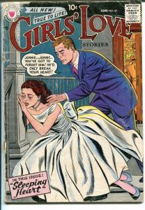 Girls' Love Stories #47 1957-DC-romance stories-G