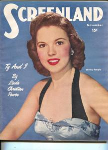 ScreenLand-Shirley Temple-Jane Russell-Van Johnson-Ed Sullivan-Nov-1949