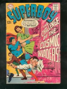 SUPERBOY #153 1969-NEAL ADAMS SILVER AGE COVER ART-RARE VG