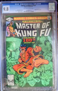 Master of Kung Fu #100 (1981) CGC 9.8