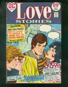LOVE STORIES #151 1973-DUMB DOLL-SWIMSUIT PANELS-DC-20  FN