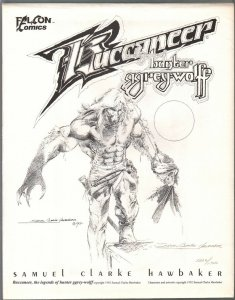 Buccaneer The Story Of Hunter Grey-Wolf 1992-S.C. Harbaker-#1202/1500-VF/NM