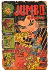 Jumbo Comics #167 1953- LAST ISSUE- Space Rangers- Precode Horror