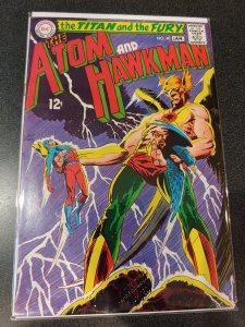 ​THE ATOM AND HAWKMAN #40 HIGH GRADE