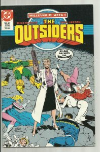 THE OUTSIDERS #27, NM, Millennium, Barr, Larsen, DC, 1985 1988 more in store