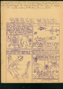 FANTASTIC FAN FICTION COMIC BOOK FANZINE #74-SPACE WOLF G/VG
