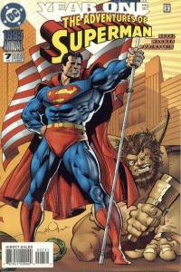 Adventures of Superman (1987 series) Annual #7, NM + (Stock photo)