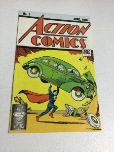 Action Comics 1 Fn+ Fine+ 6.5 Reprint 1988 50 Year Anniversary DC Comics
