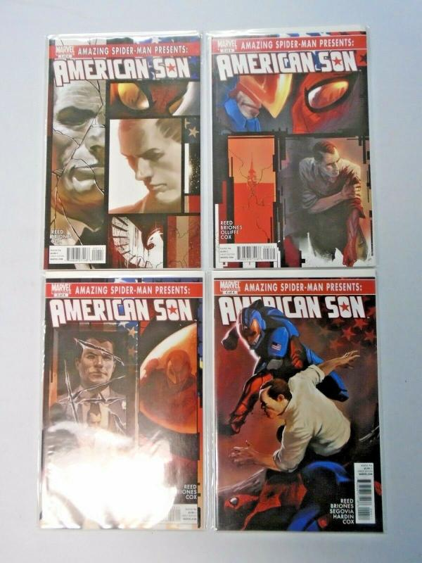 Amazing Spider-Man Presents American Son set #1 to #4 - see pics - 8.0 - 2010
