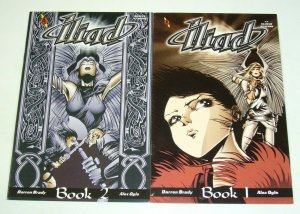 Iliad #1-2 FN complete series - ikarus - amaze ink - slave labor set lot 1997