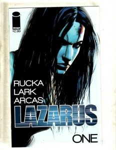 Lot Of 10 Lazarus Image Comic Books # 1 2 3 4 5 6 7 8 9 10 Rucka Lark Arcas RP4
