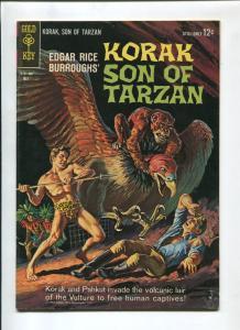 KORAK SON OF TARZAN #3 1964-GOLD KEY-RUSS MANNING-VG/FN