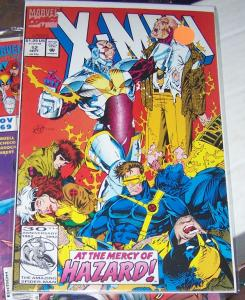 X MEN  # 12  marvel  1992  WOLVERINE HAZARD ROGUE GAMBIT