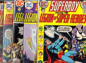 Superboy #198-206 (Oct-73) VG Affordable-Grade Superboy, Legion of Super-Heroes