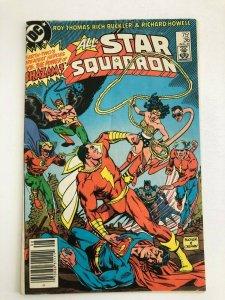 All-Star Squadron #36 (DC Comics 1984) SUPERMAN VS SHAZAM FN