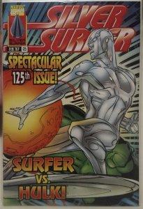 Silver Surfer #125 NM Surfer vs. Hulk