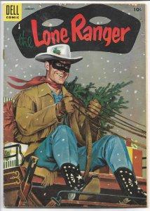 The Lone Ranger #79 - Golden Age - January, 1955  (G+)