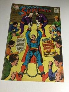 Superman 206 Vg Very Good 4.0 DC Comics