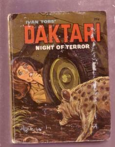 DAKTARI- NIGHT OF TERROR- GEORGE S. ELRICK, #2018, BLB VG