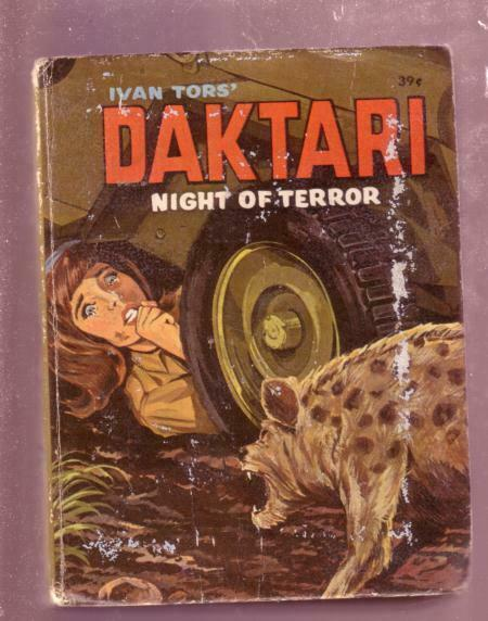 DAKTARI- NIGHT OF TERROR- GEORGE S. ELRICK, #2018, BLB VG