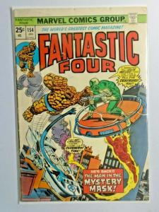 Fantastic Four #154 1st Series 3.0 (1975)