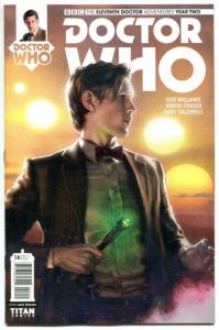 DOCTOR WHO #14 A, NM, 11th, Tardis, 2015, Titan, 1st, more DW in store, Sci-fi