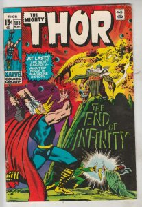 Thor, the Mighty #188 (May-71) VF/NM High-Grade Thor