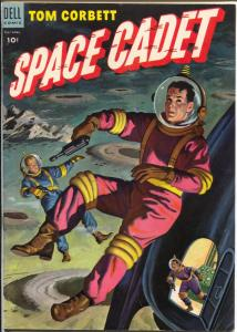 Tom Corbett Space Cadet  #9 1954-Dell-TV Series-Mc Williams-FN+