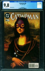 Catwoman #66 1999-cgc Graded 9.8 MONA LISA  2039899002