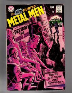 METAL MEN 33 GOOD PLUS July 1968   Piece Missing Back C