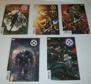 House of X (2019) #1,3-6 (set of 5) Hickman/Larraz, 1st prints