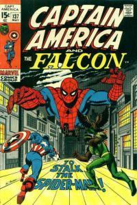 Captain America (1st Series) #137 VG; Marvel   low grade comic - save on shippin