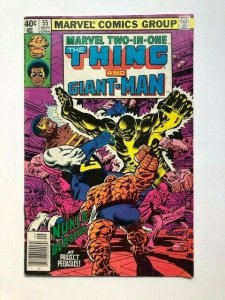MARVEL Two in one THE THING AND GIANT MAN #55 Sept 2979 VG/F (A285)