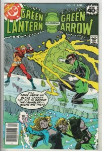 Green Lantern # 115 Strict NM/MT Super-High-Grade 1st The Crumbler part II Wow