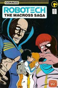 Robotech: The Macross Saga #11 VF/NM; COMICO | save on shipping - details inside