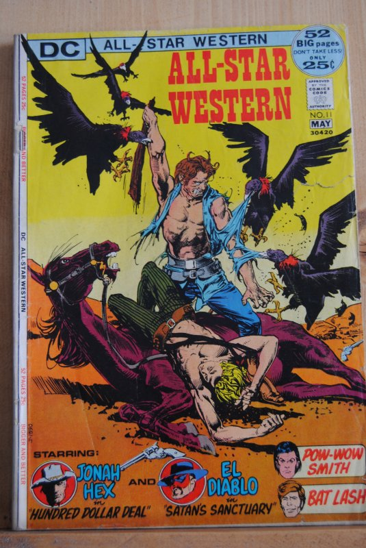 D.C. All-Star Western #11, 2nd appearance of Jonah Hex! Hot!