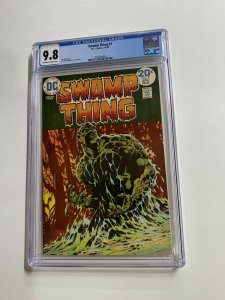 Swamp Thing 9 Cgc 9.8 Ow/w Pages Dc Bronze Age 2042366009