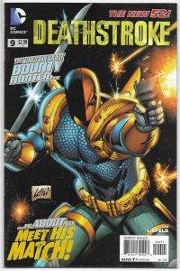 Deathstroke   vol. 1   # 9 NM (New 52)