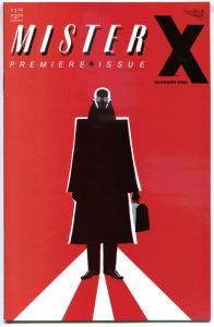 MISTER X #1, VF/NM, 1984, 1st, Vortex, Hernandez Bros, Jamie