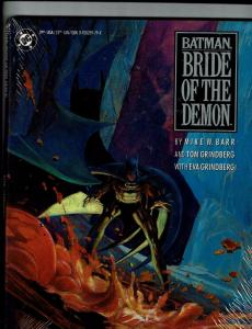 Batman Bride Of The Demon HARDCOVER SEALED Shrink DC Comic Book 1st Print J146