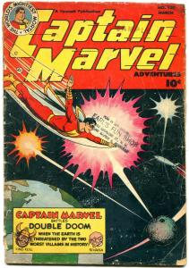 Captain Marvel Adventures #130 1952 -Fawcett Golden Age reading copy