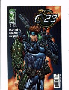 Lot Of 4 C-23 Image Comic Books # 2 3 4 8 Jim Lee Mariotte Lozano Nyberg J239